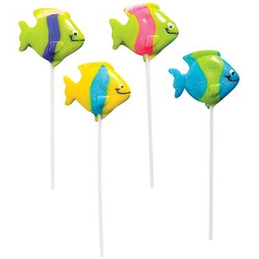 Tropical Fish Lollipops