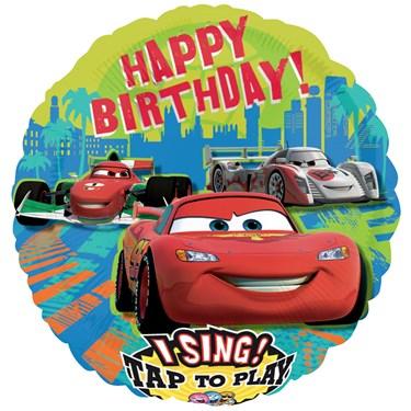 Disney Cars Group Singatune Foil Balloon