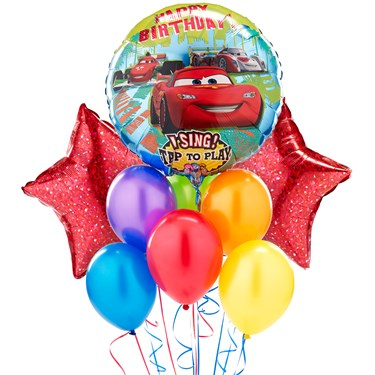 Disney Cars Singing Balloon Bouquet