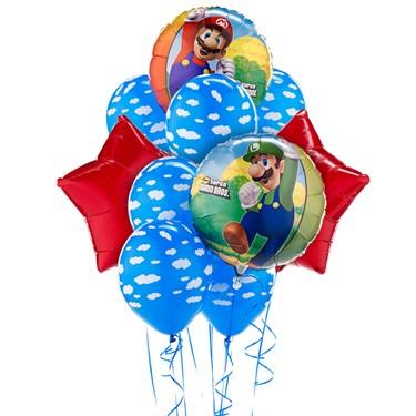 Super Mario Balloon Bouquet
