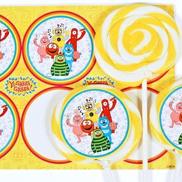 Yo Gabba Gabba! Deluxe Lollipop Favor Kit