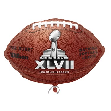 Super Bowl XLVII Foil Balloon