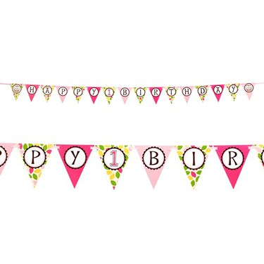 Look Whoo's 1 Pink Ribbon Flag Banner