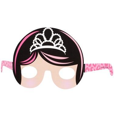 Diva Princess Paper Masks (8)