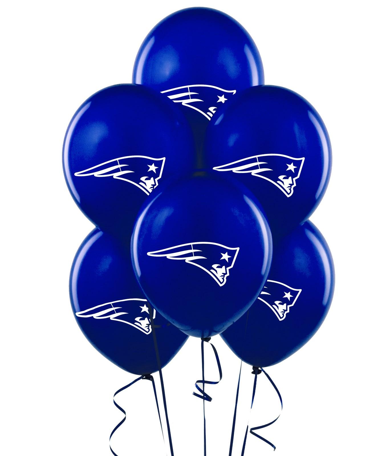 New England Patriots Latex Balloons