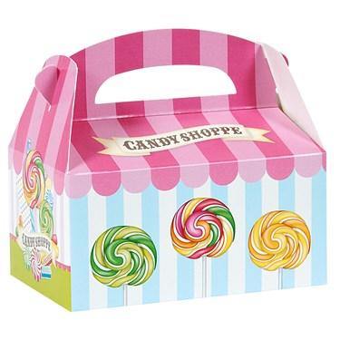 Candy Shoppe Empty Favor Boxes