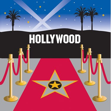 Reel Hollywood Lunch Napkins