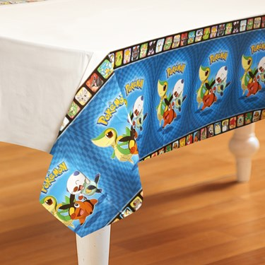 Pokemon Birthday Plastic Tablecover