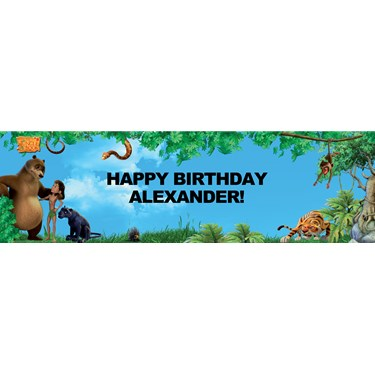 The Jungle Book Personalized Banner
