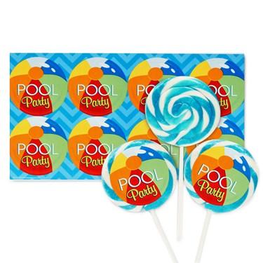 Splashin' Pool Party Deluxe Lollipop Favor Kit