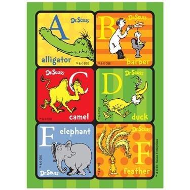 Dr. Seuss ABC - Sticker Sheets