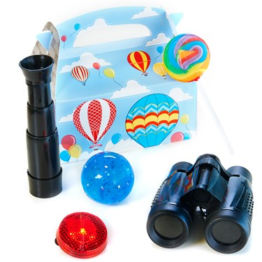 Up, Up and Away Filled Party Favor Box