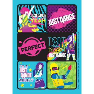 Just Dance Sticker Sheets