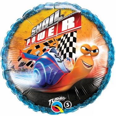 Turbo Snail Power Foil Balloon