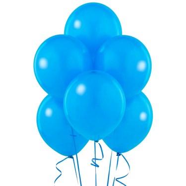 True Blue (Blue) Matte Balloons