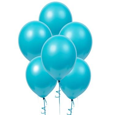 Bermuda Blue (Turquoise) Matte Balloons