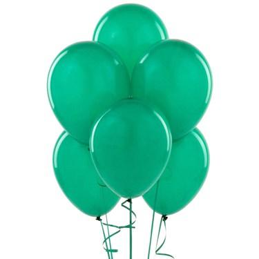 Jade Green Latex Balloons