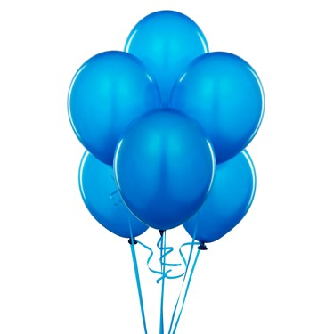 Cyan Balloons
