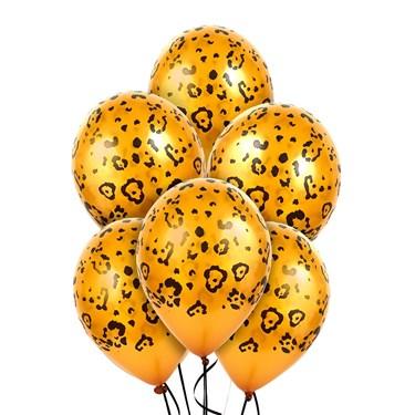Leopard Spots Latex Balloons