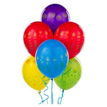 Birthday Sprays Latex Balloons