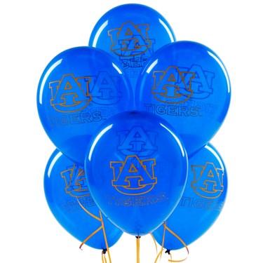 Auburn Tigers Latex Balloons