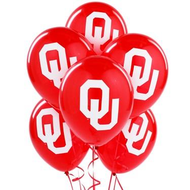 Oklahoma Sooners Latex Balloons