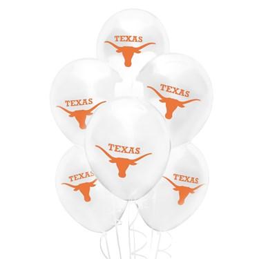 Texas Longhorns Latex Balloons