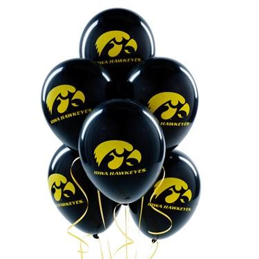 Iowa Hawkeyes Latex Balloons