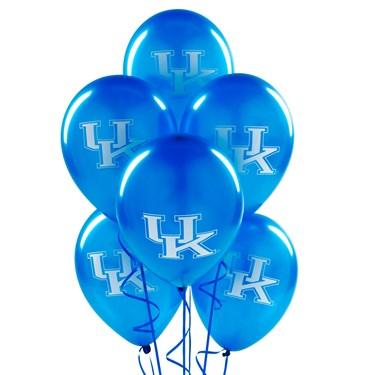 Kentucky Wildcats Latex Balloons