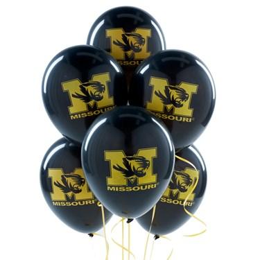 Missouri Tigers Latex Balloons