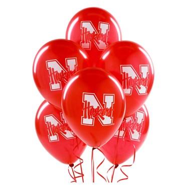 Nebraska Cornhuskers Latex Balloons