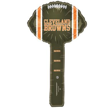 Cleveland Browns Foil Hammer Balloons