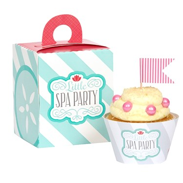 Little Spa Party Baking Kit