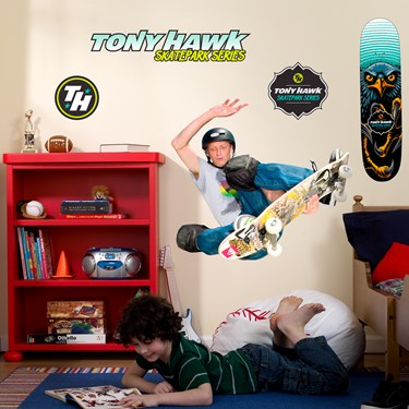 Tony Hawk Skatepark Series Giant Wall Decals