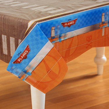 Disney Planes Plastic Tablecover