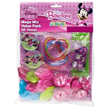 Disney Minnie Mouse Bowtique Party Favor Pack