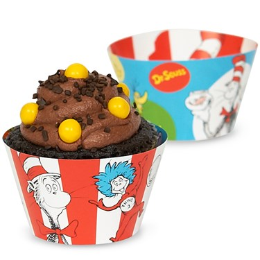 Dr. Suess Reversible Cupcake Wrappers
