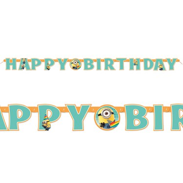 Despicable Me 2 - Jointed Birthday Banner
