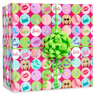 Barbie All Doll'd Up Gift Wrap Kit