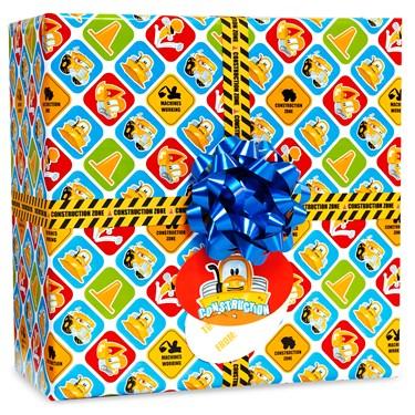 Construction Pals Gift Wrap Kit