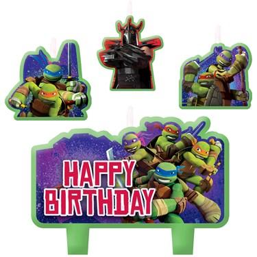 Teenage Mutant Ninja Turtles Birthday Candles