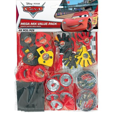 Disney Cars Dream Party - Party Favor Value Pack