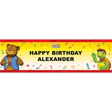 Franklin and Friends Personalized Banner