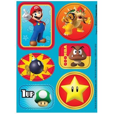Super Mario Party Sticker Sheets