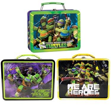Teenage Mutant Ninja Turtle Tin Box Carry All