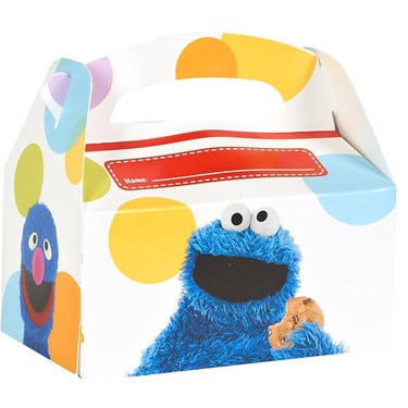Sesame Street Party - Personalized Write-In Empty Favor Boxes (4)