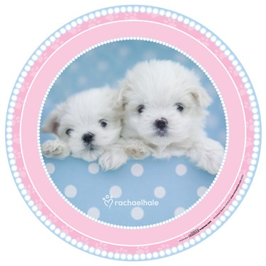 rachaelhale Glamour Dogs Round Activity Placemats (4)