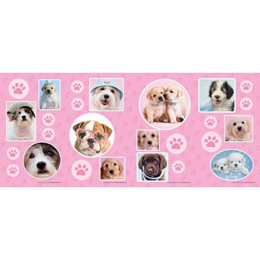 rachaelhale Glamour Dogs Small Wall Decorations