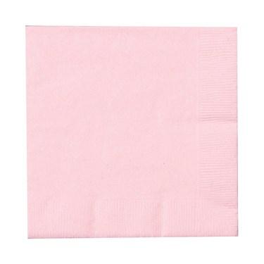 Classic Pink (Light Pink) Beverage Napkins