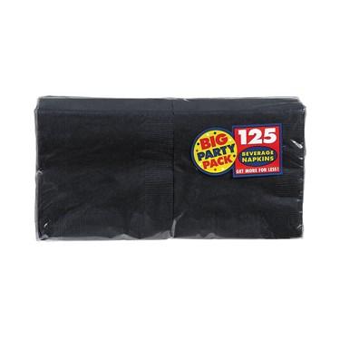 Black Big Party Pack - Beverage Napkins